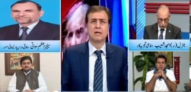 Hard Talk Pakistan (Azadi March: PMLN Mein Phoot) - 15th October 2019