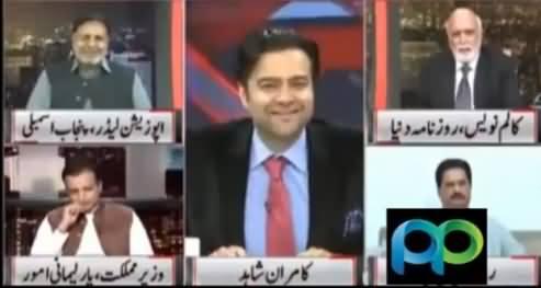 Haroon Rasheed Comments on Imran Khan's Strategy & Language