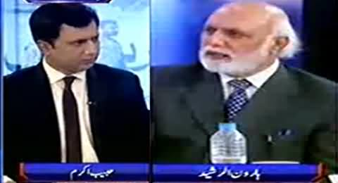 Haroon Rasheed Giving Reasonable Solution to End Terrorism From Pakistan