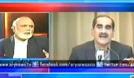 Haroon Rasheed Reveals How Khawaja Saad Rafique Once Joined Tehreek e Insaf