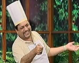 Hasb e Haal - 18th July 2013 (Aziz As Chef)