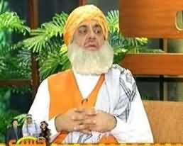 Hasb e Haal - 9th June 2013 (Azizi as Fazal ur Rehman)