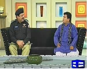 Hasb e Haal (Aziz As Police Inspector) – 22nd May 2014