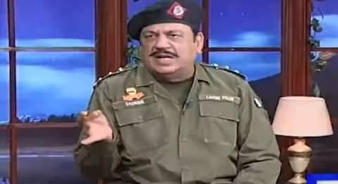 Hasb e Haal (Azizi As Police Inspector) - 31st July 2021
