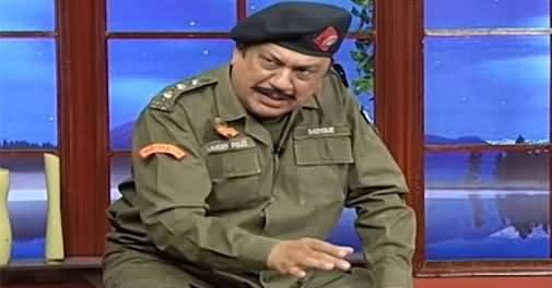 Hasb e Haal (Azizi As Police officer) - 17th September 2021