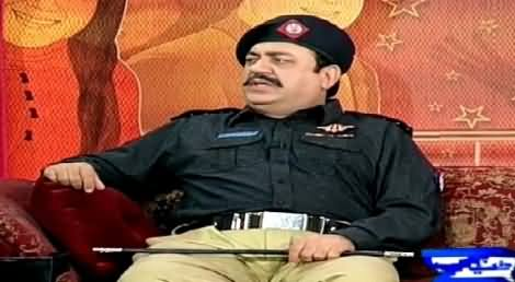 Hasb e Haal (Azizi As Policeman) – 16th July 2015