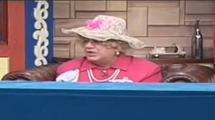 Hasb e Haal (Azizi as Queen Elizabeth) - 26th May 2019