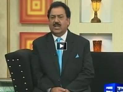 Hasb e Haal (Azizi As Rehman Malik & A PMLN Worker) – 12th September 2014