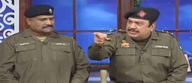 Hasb e Haal (Azizi as SHO Sadique) - 19th July 2019