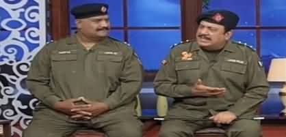 Hasb e Haal (Azizi as SHO Sadique) - 3rd May 2019