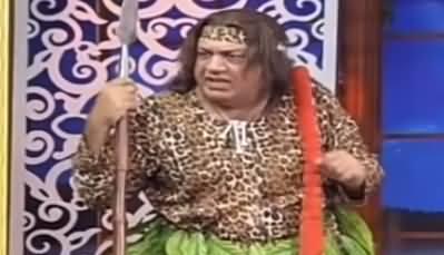 Hasb e Haal (Azizi as Tarzan) - 29th September 2019