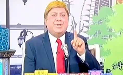 Hasb e Haal (Comedy Show) - 12th January 2017