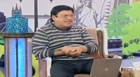 Hasb e Haal (Comedy Show) - 8th January 2017