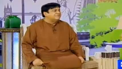 Hasb e Haal On Dunya News - 1st April 2016