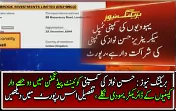Hassan Nawaz's firm has two Israelis as partners ..report
