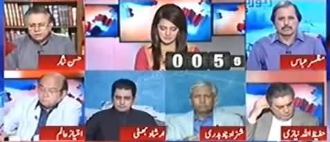 Hassan Nisar Analysis on NA-120 By-Election Results