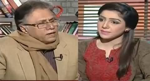 Hassan Nisar Badly Bashing Tanveer Zamani For Calling Her Son A Bhutto