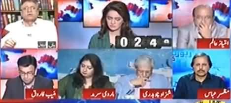 Hassan Nisar Comments on ECP's Verdict Regarding Ayesha Gulalai's Case