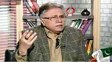 Hassan Nisar Expressing Sympathy with MQM Terrorist Saulat Mirza & Model Ayyan Ali
