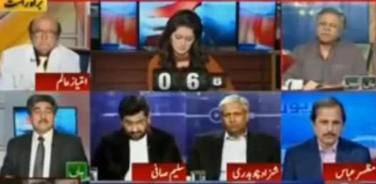 Hassan Nisar Great Analysis on Sharif Family Names in Panama Leaks