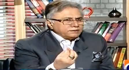 Hassan Nisar Praising Nawaz Sharif For Not Speaking Against Altaf Hussain