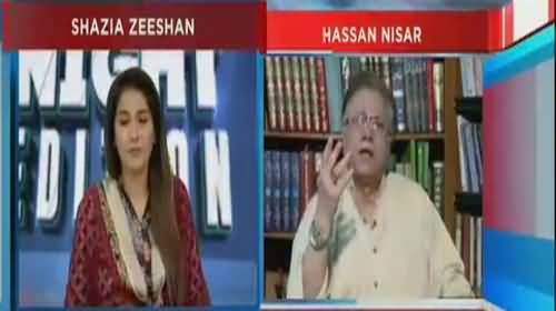 Hassan Nisar's Befitting Response on PTI's U-turns