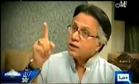 Hassan Nisar Showing Hatred Against the Teachings of Islam on Hijab, Vulgarity and Beard