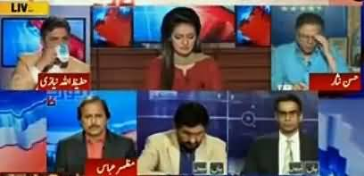 Hassan Nisar Takes Class of Ayesha Bakhash for Giving Him Taliban America Topic Again