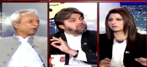 Heated Arguments Between Ali Muhammad Khan & Nehal Hashmi in Live Show