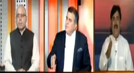 Heated Arguments Between Daniyal Aziz And Shaukat Yousfzai in Live Show
