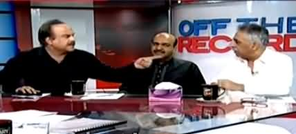 Heated Arguments Between Naeem-ul-Haq And Muhammad Zubair in Live Show