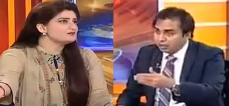 Heated Debate Between Dr. Shahbaz Gill And Paras Jahanzeb on Economy
