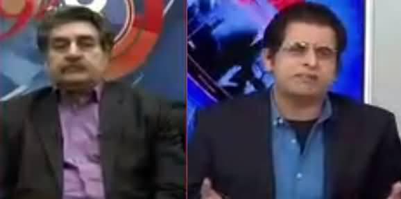 Heated Debate Between Iftikhar Ahmad And Irshad Bhatti