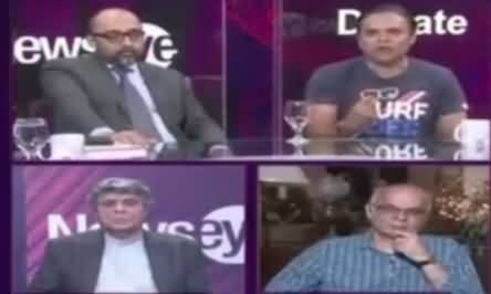 Heated Debate Between Kashif Abbasi & Hafeez Ullah Niazi on Nawaz Sharif's Narrative