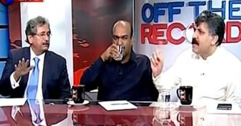 Heated Debate Between Kashif Abbasi, Sheikh Waqas Akram & Nadeem Afzal Chan