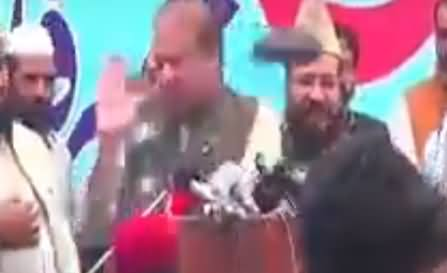 Hilarious Commentary on Shoe Hurling At Nawaz Sharif