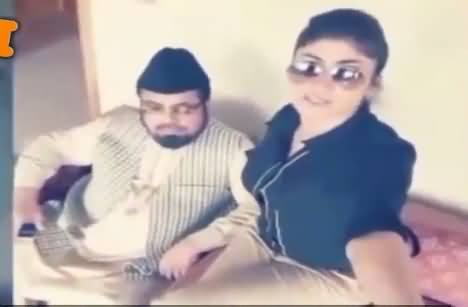 Hilarious Tezabi Totay of Mufti Abdul Qavi And Qandeel Baloch Meeting