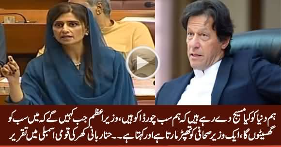 Hina Rabbani Khar Speech In National Assembly, Criticizing PM Imran Khan - 24th June 2019