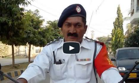 Honest Police inspector returned the important documents to its real owner after finding him