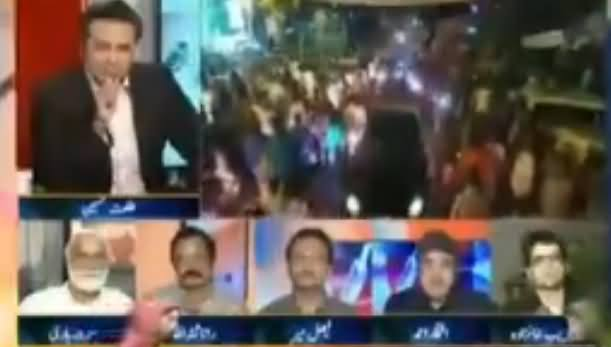 Hot Debate Between Anchor Iftikhar Ahmad And Rana Sanaullah