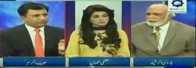 Hot Debate Between Haroon Rasheed And Habib Akram on Panama Case