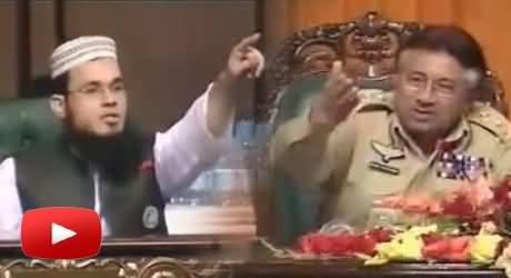 Hot Debate Between Pervez Musharraf and Syed Adnan Kakakhel