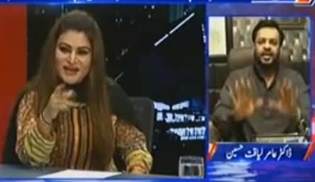 Hot Debate Between Sassi Palejo (PPP) & Amir Liaquat in Live Show