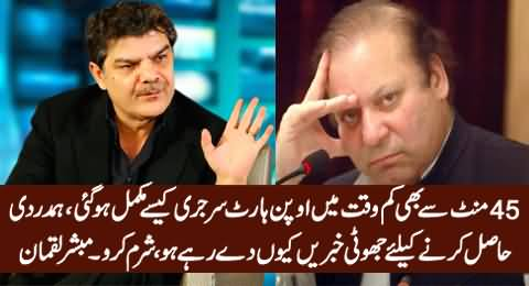 How Can Open Heart Surgery Be Over In Less Than 45 Minutes - Mubashir Luqman