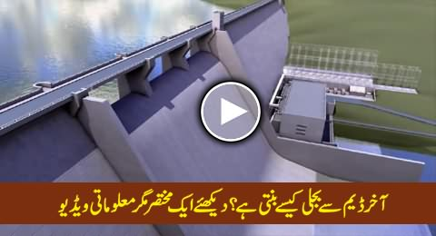 How Electricity is Generated Through Hydropower, Watch A Short But Informative Video