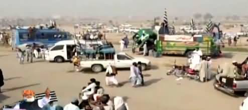 How Many People Are In Fazlur Rehman's Azadi March? Watch A Report
