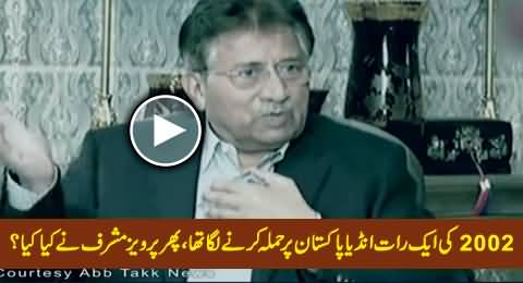 How Pervez Musharraf Handled India in 2002 When It Was Going to Attack Pakistan