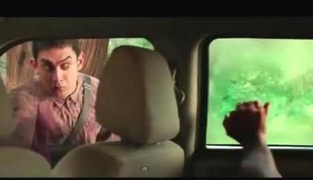 How PK Movie's Dancing Car Scene Was Filmed, Behind the Scene Video