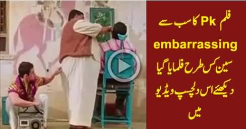 How PK's Most Embarrassing Scene Was Filmed, Watch Behind The Scene Video