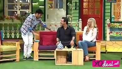 How Waseem Akram And Kapil Making Fun Of Shaniera Akram